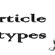شش نوع مقاله ای که مجلات علمی آنها را چاپ می کنند