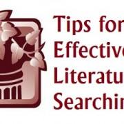 چگونه برای نگارش مقاله یا پایان نامه ادبیات پژوهشی جدید جستجو کنیم؟
