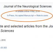 آیا می توان به مقاله ای که صرفاً پذیرش شده است رفرنس داد؟