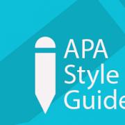 قواعد کلی مقاله نویسی به سبک APA