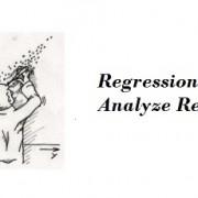 نحوه گزارش نتایج تحلیل رگرسیون چند متغیری